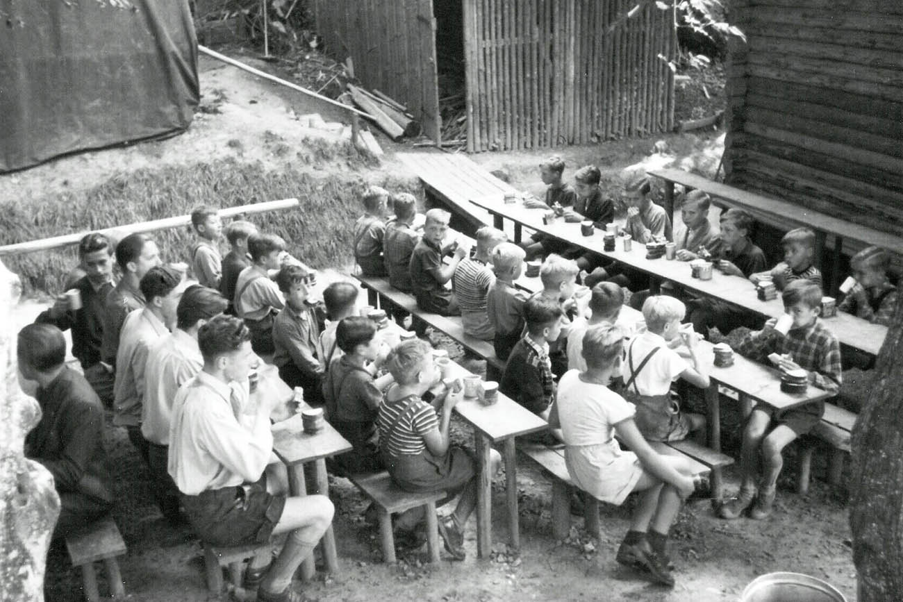 Pfarrer Magnani nahm sich den Kindern nach dem Krieg an