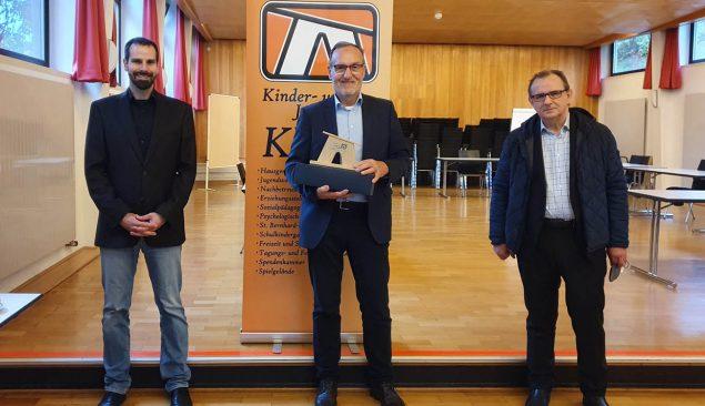 Von links: Herr Dr. Klotz, Herr Horn und Herr Dr. Schweiker